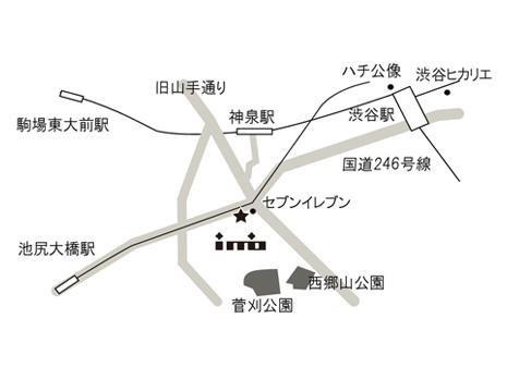 株式会社イミオ アクセスマップ