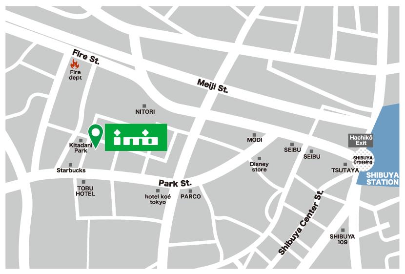 株式会社イミオ 地図